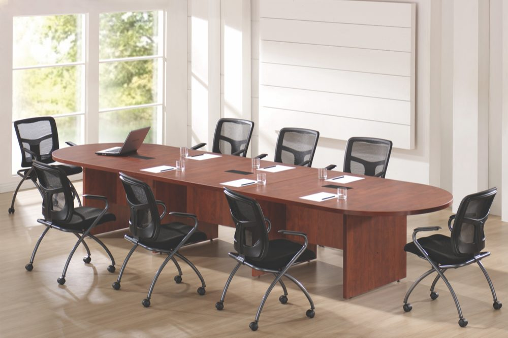 Oval Racetrack Shaped Conference Table Ndi Office Furniture