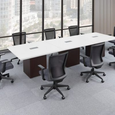 Performance Laminate Square Conference Tables from NDI Office Furniture